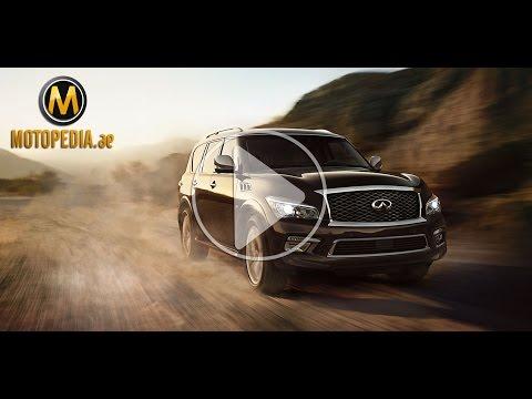 2014 Infiniti QX80 review - تجربة انفينيتي كيو اكس 80 - Dubai UAE Car Review by Motopedia.ae