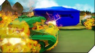 ОЧЕНЬ МНОГО ТАНКОВ.Немецкая компания # 1- Игра Total Tank Simulator Demo 4. Экшен танки.