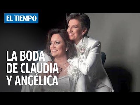 Claudia Lopez habla sobre su matrimonio con Angelica Lozano
