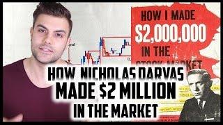 HOW NICHOLAS DARVAS MADE $2 MILLION IN THE MARKETS