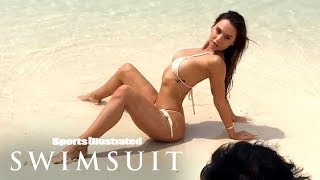 Alexis Ren Spreads Out, Teases Her Steamy Debut Behind The Scenes | Sports Illustrated Swimsuit