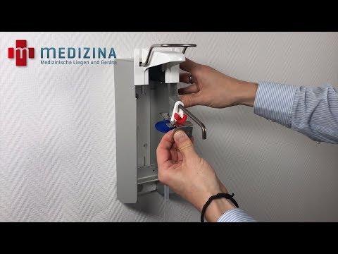Seifenspender & Desinfektionsspender, herausnehmbare Pumpe