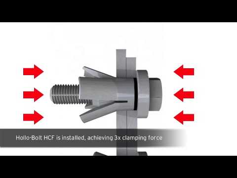 1. Lindapter | Hollo-Bolt High Clamping Force (HCF)
