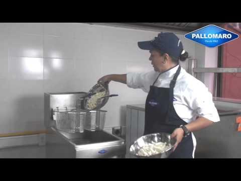 Temperaturas y tiempos para frituras - Freidor industrial Pallomaro S.A.