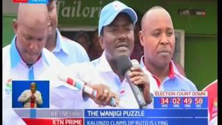 Kalonzo Musyoka challenges DP William Rut to tell the truth about Jimmy Wanjigi