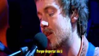 Damien Rice - Animals were gone (Español)