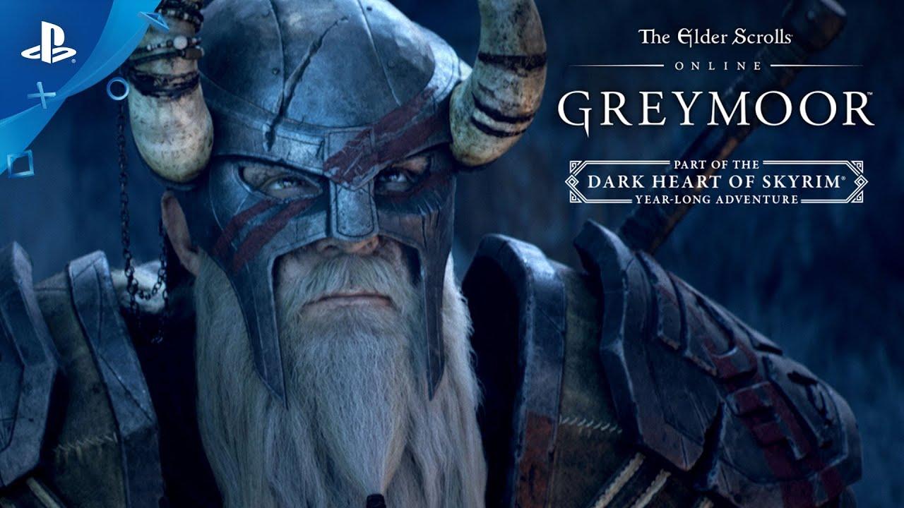 Descubra Dark Heart of Skyrim – O Próximo Capítulo de Greymoor e Grande Aventura de ESO