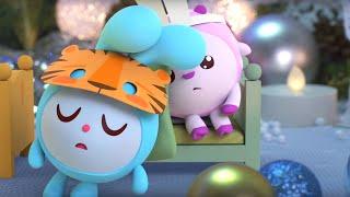 Малышарики - Зимние каникулы   Удивительные серии