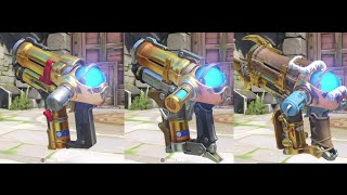 Overwatch Mei Golden Gun All Skins [Outdated]