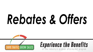 Rebates and Offers: Close Sales with Great Deals!