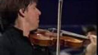 Joshua Bell plays the Bruch violin concerto (II. Adagio)