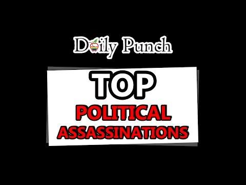 TOP POLITICAL ASSASSINATIONS