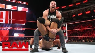 Dean Ambrose vs. Drew McIntyre: Raw, Sept. 17, 2018
