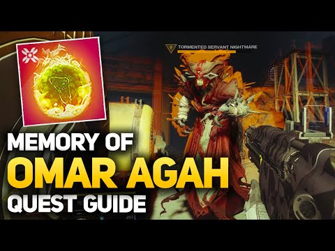 Easy Hive Wizard & Throwing Knives - Memory of Omar Agah (Week #4 Eris Morn Quest)