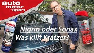 Lackpolitur Nigrin oder Sonax: Was killt Kratzer am Audi A6? Heißer Scheiß #1 I auto motor und sport