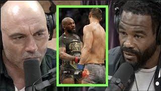 Taken from JRE MMA Show #90 w/Rashad Evans: https://youtu.be/auslk18GgIE