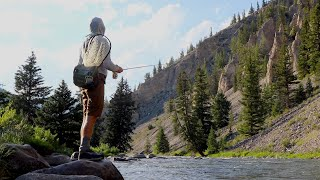 FISHING THE GALLITAN RIVER IN MONTANA