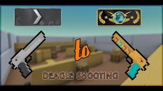 Silver 1 to Global Elite★DEAGLE Shooting★Block Strike :D