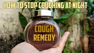 How to Stop Coughing at Night| Dry Cough Remedy [CLOVE & HONEY for COUGH, IMMUNITY BOOST]