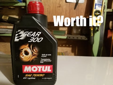 Review: Motul Gear 300 Trans and Diff Fluid in Subaru BRZ