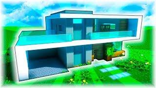 Tutorial casa moderna minecraft 123vid for Casa moderna facil minecraft tutorial