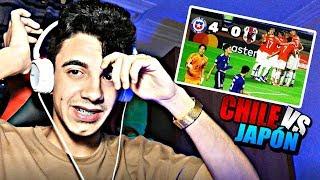 CHILE Vs JAPÓN 4-0 Copa América ⚽ (Resumen Y Todos Los Goles) REACCIÓN