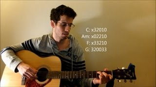 Cups - Anna Kendrick (Pitch Perfect) - Guitar Lesson / Tutorial / How to Play / Cover / Chords / Tab
