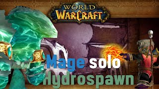 Mage solo hydrospawn (easy max level water quest)