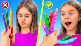 Pop It College! 12 Cool DIY Pop It Fidget Toys!