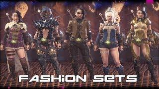 Fashion Sets Femeninos MHW: Iceborne V1.0