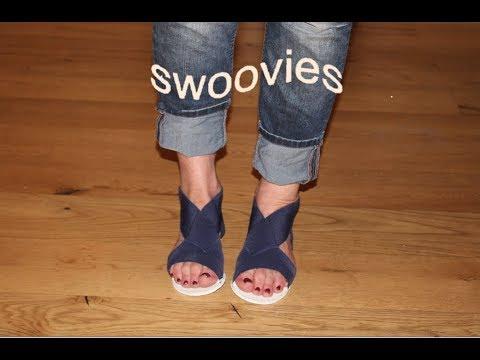 Swoovies - Version 3 = Sandalen im Tape-Verlauf