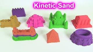 """Đồ Chơi Trẻ Em- Cát Động Lực Kinetic Sand """"Xây Vạn Lý Trường Thành"""" (Chị Bí Đỏ)"""