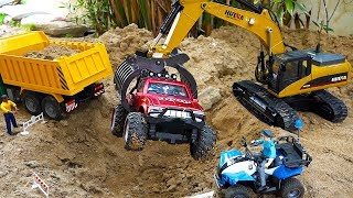 Excavator Car Toy Play with Dump Truck Toys Vehicles