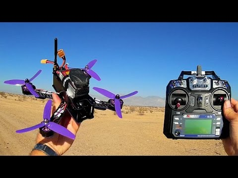 Eachine Wizard X220 FPV Racer Drone Flight Test Review
