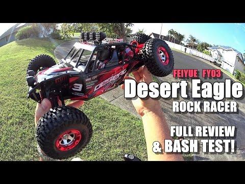 FEIYUE FY03 DESERT EAGLE 3 4X4 1/12  Review –  [UnBox, Inspection, Drive/CRASH Test, Pros & Cons]