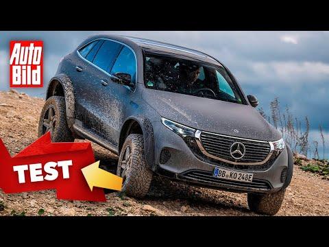 Mercedes EQC 4x4 hoch 2 (2020): Neuvorstellung - Elektro - Offroad - SUV - Test