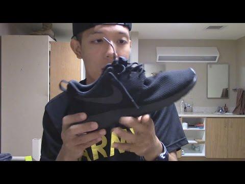Nike Roshe One (Black) - Sneaker Pickups/On Feet Review