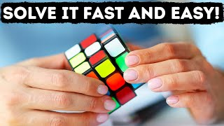 Solve Any Rubik's Cube in Less Than a Minute, Here's How