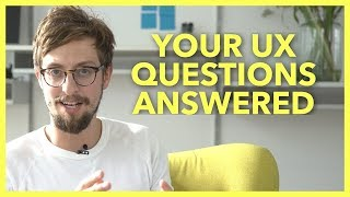 TOP VOTED UX DESIGNER QUESTIONS FROM QUORA ANSWERED | Aj&Smart