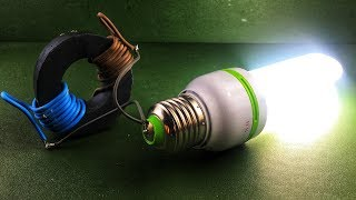 100% Free Energy Generator Electric Homemade Using Magnets With Light Bulb - Amazing Technology 2018