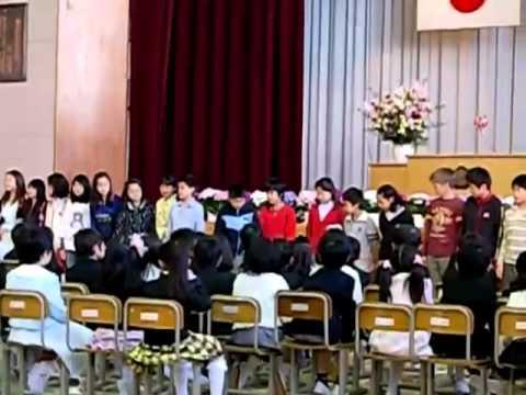 舎人小学校入学式