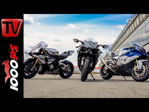 Soundvergleich | Kawasaki H2 vs Yamaha R1M vs BMW S1000RR
