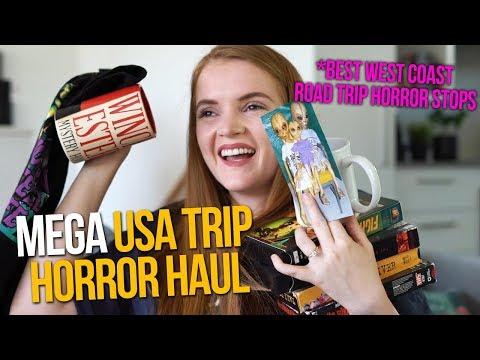 HUGE HORROR HAUL | Best Oddity Museums for West Coast Road Trip USA |  spookyastronauts