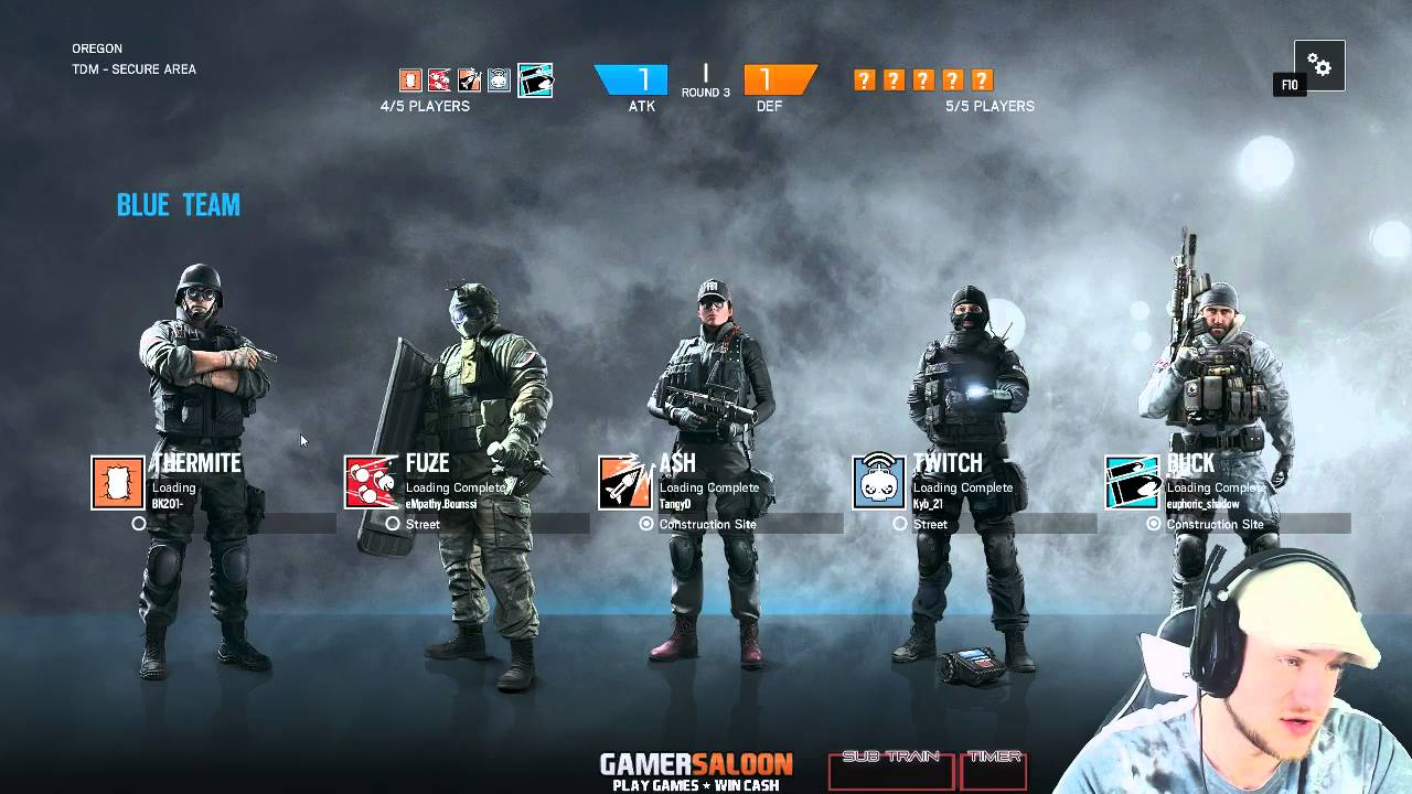 R6 Siege - Diamond ranked / Oregon (With frost and buck) - YouTube