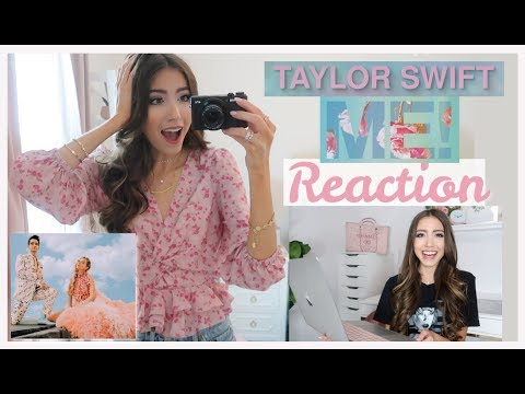 Taylor Swift - ME! (feat. Brendon Urie of Panic! At The Disco) OFFICIAL MUSIC VIDEO REACTION