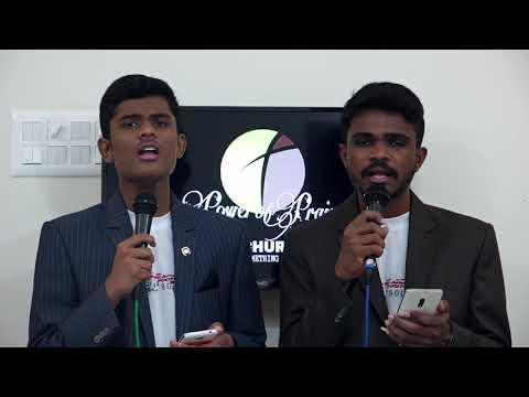 New Tamil Christmas Song 2019 - Christhesu Piranthar - RECORDED LIVE -