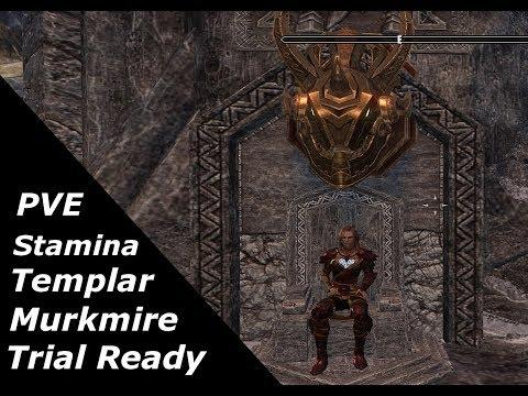 ESO - Stamina Templar: PVE Trials Build for Murkmire