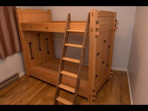 Woodworking, The Worlds Best Bunk Beds