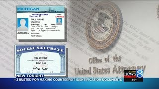 Feds: 3 made, sold fake IDs to undocumented workers