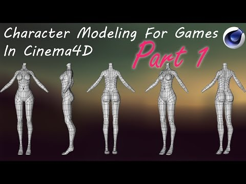 Biped Rigging for Games using Cinema 4D - смотреть онлайн на